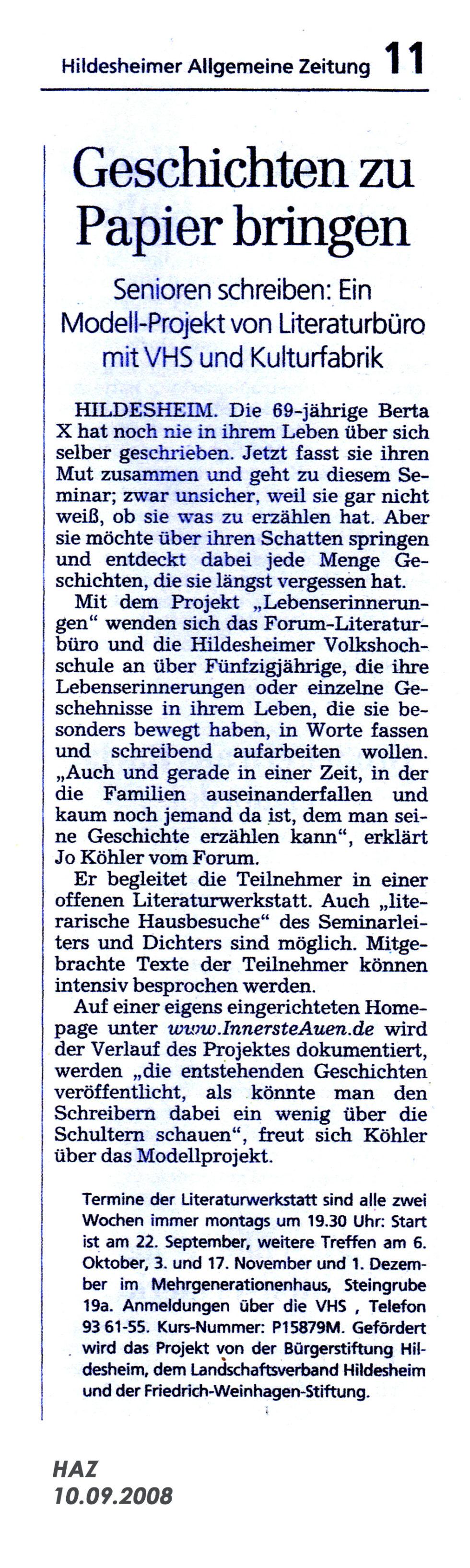 Biografisches-Schreiben_2018_05 Presse 10.12.2008