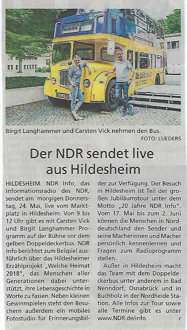 NDR Info 23.05.2018