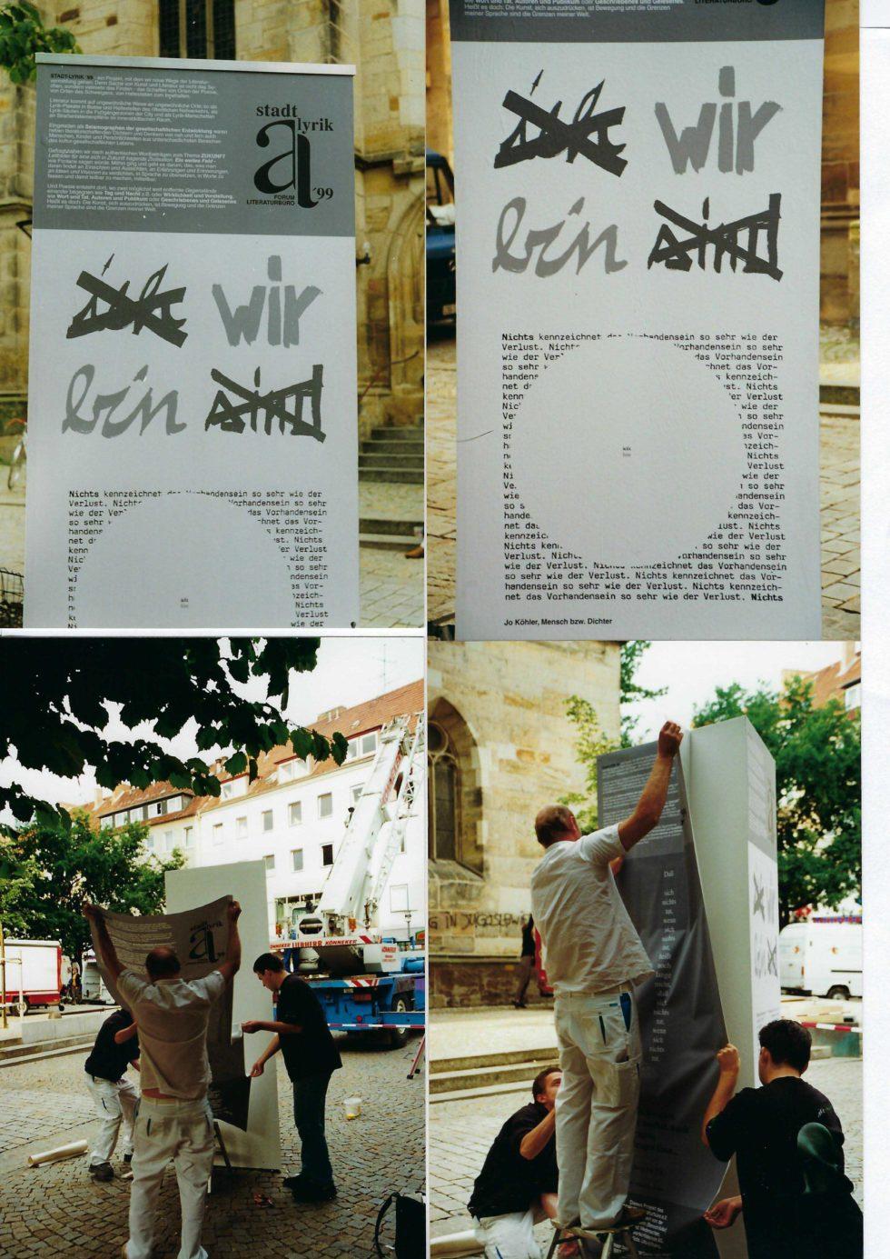 10_Stadtlyrik_1999_Montage