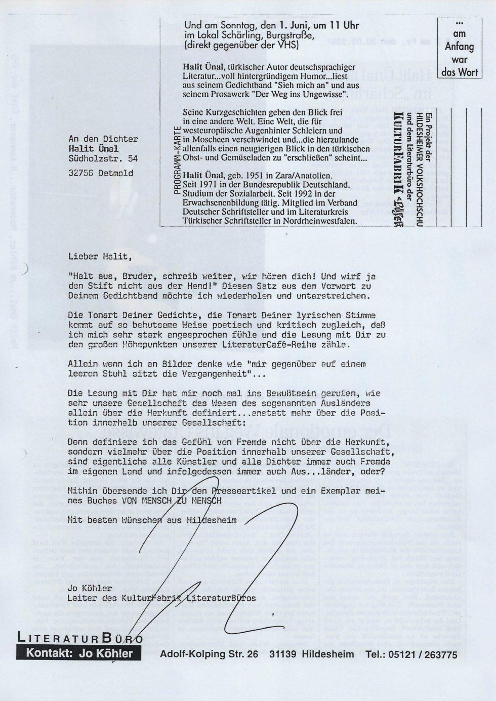 1997 Stift.Lesen, Lit.Tour, Lasker-Wallfisch_Seite_26