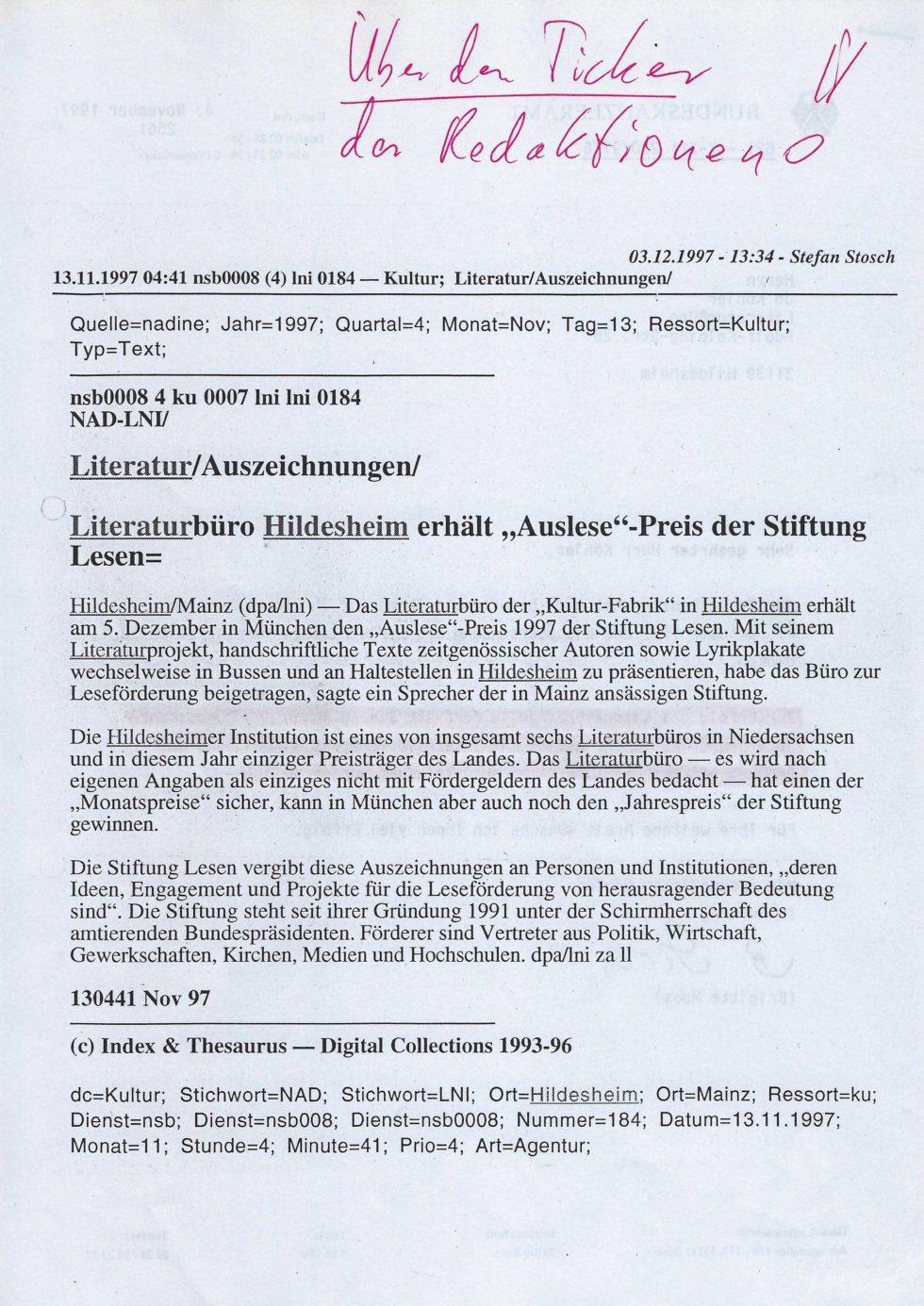1997 Stift.Lesen, Lit.Tour, Lasker-Wallfisch_Seite_52