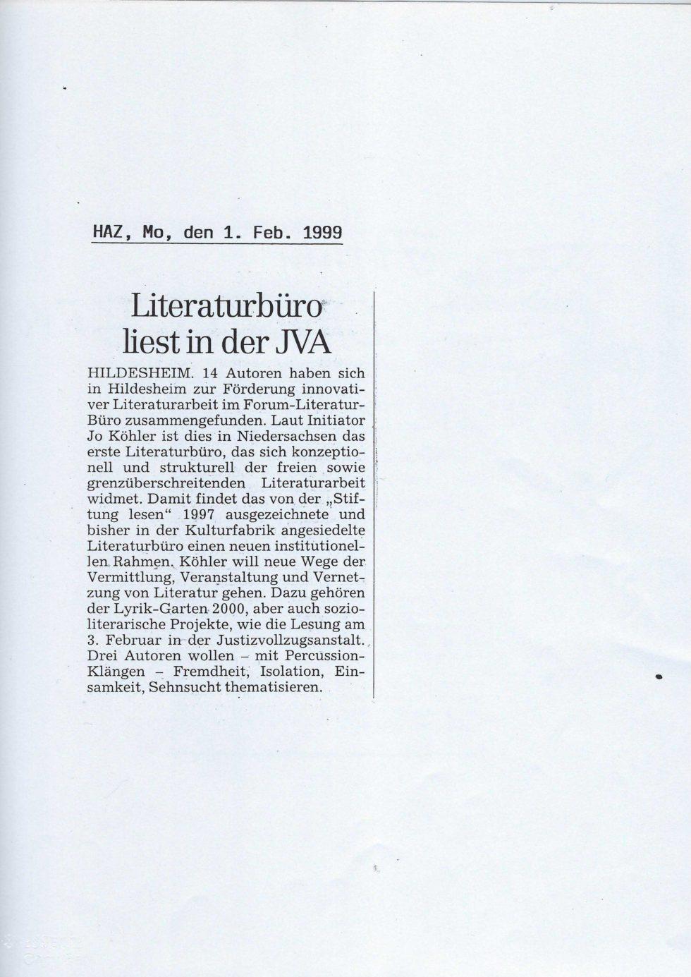 1999 Lyrik-Säulen, JVA Lesung,_Seite_01