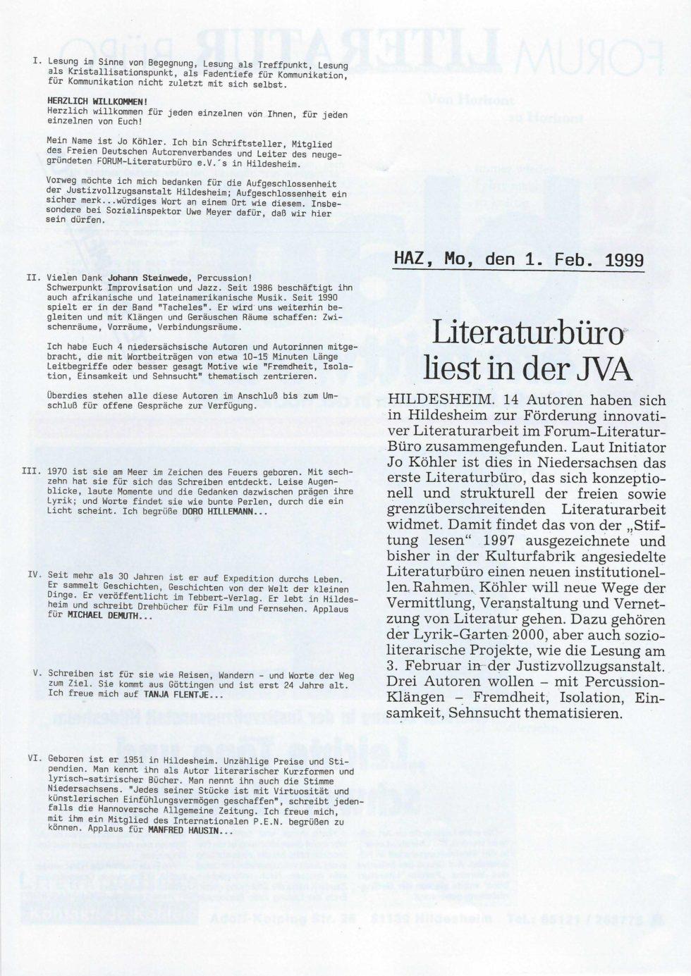 1999 Lyrik-Säulen, JVA Lesung,_Seite_05