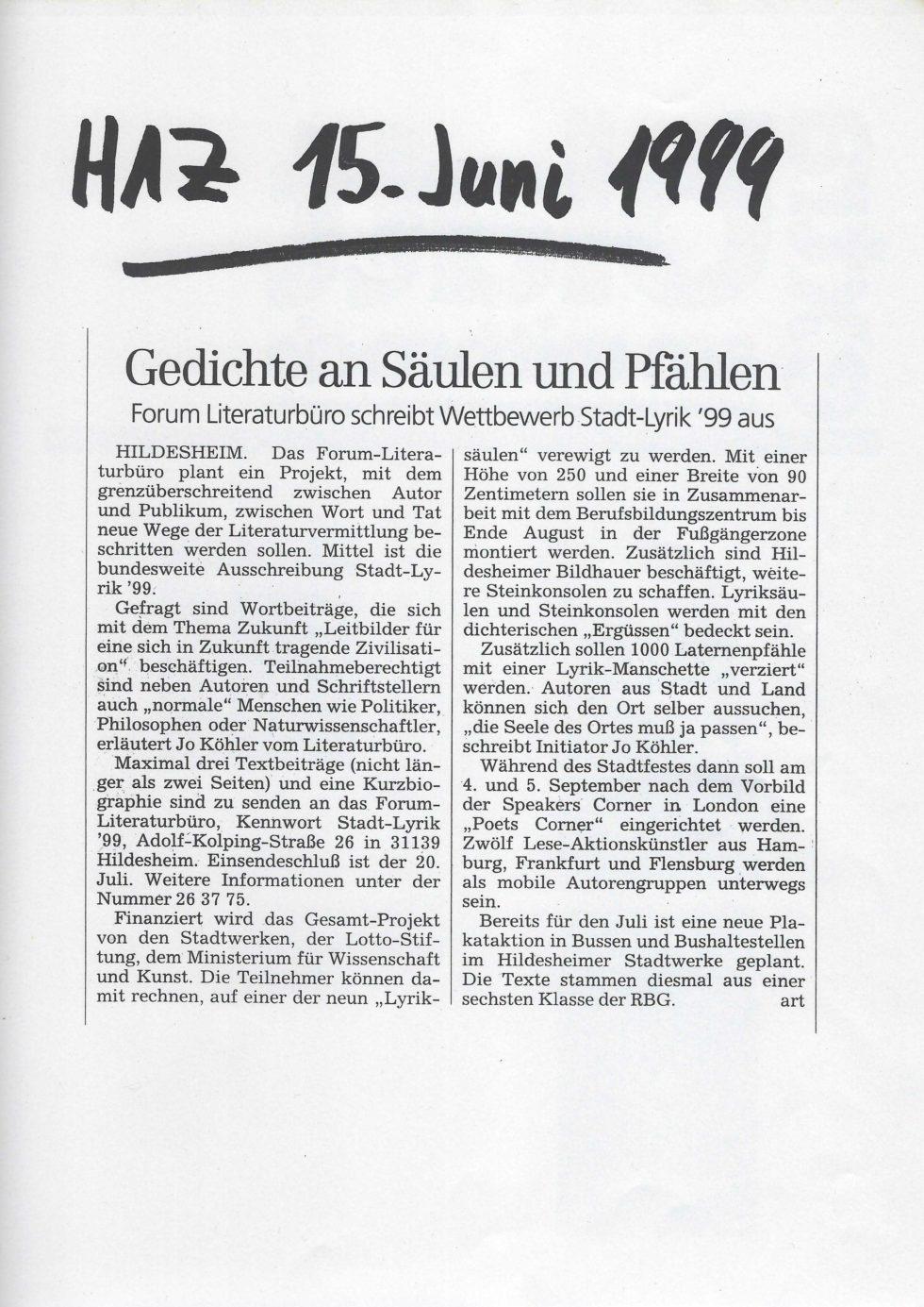1999 Lyrik-Säulen, JVA Lesung,_Seite_20