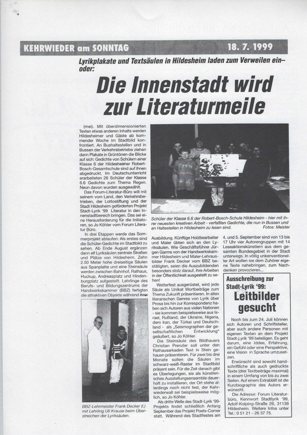 1999 Lyrik-Säulen, JVA Lesung,_Seite_25