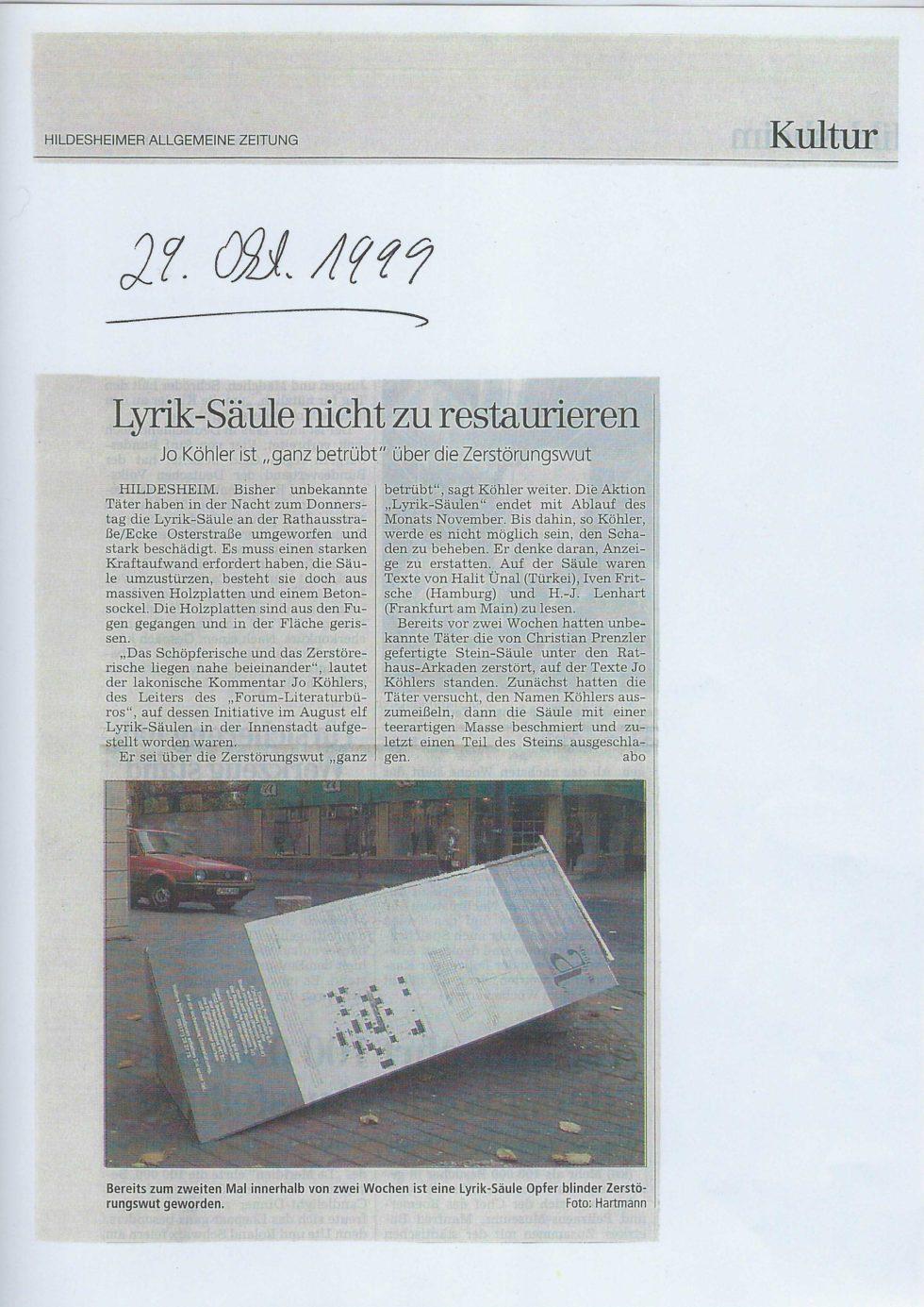 1999 Lyrik-Säulen, JVA Lesung,_Seite_38