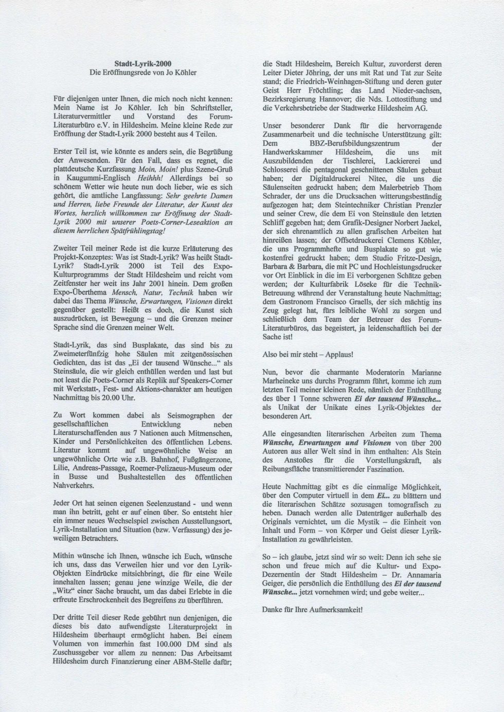 2000-2002 Stadt-Lyrik, EXPO-Ei, Krise Lit.Büro_Seite_51