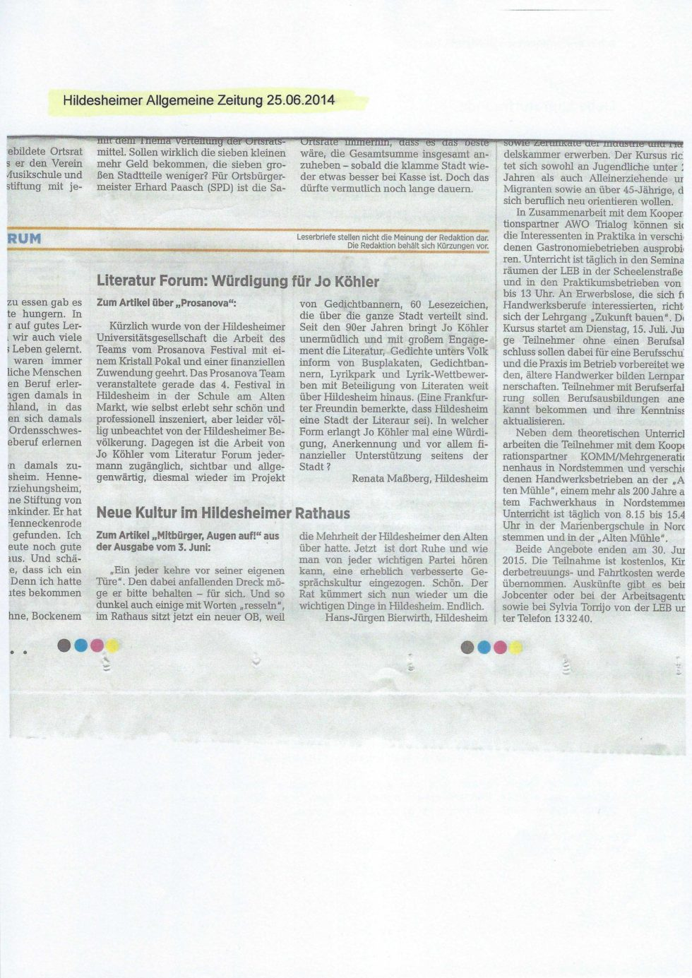 2014 Bistums Jubiläum, LeseZeichen, Morosov Vertonung_Seite_23