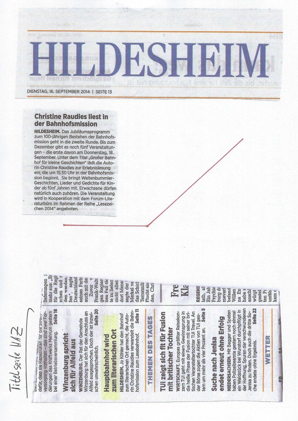 2014 Bistums Jubiläum, LeseZeichen, Morosov Vertonung_Seite_28