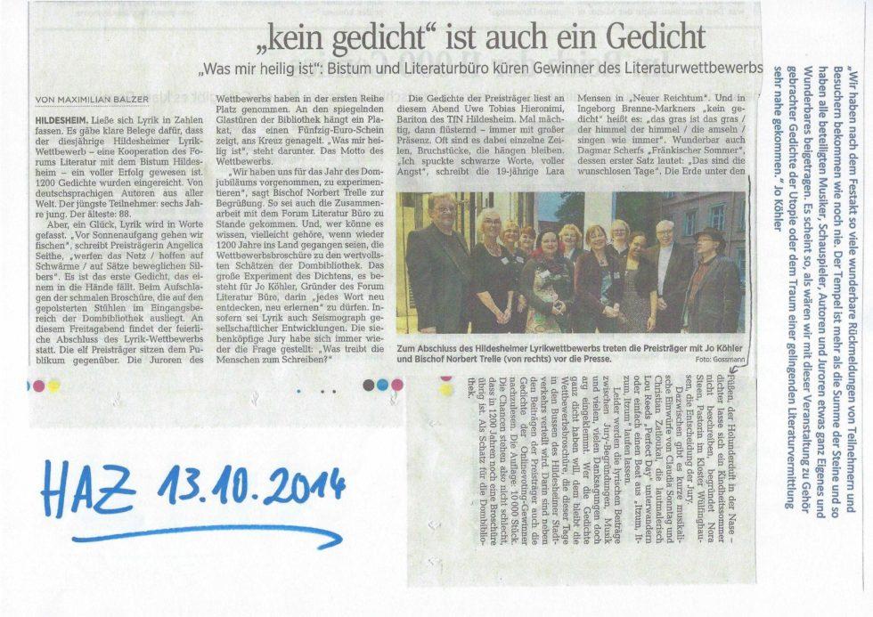 2014 Bistums Jubiläum, LeseZeichen, Morosov Vertonung_Seite_30