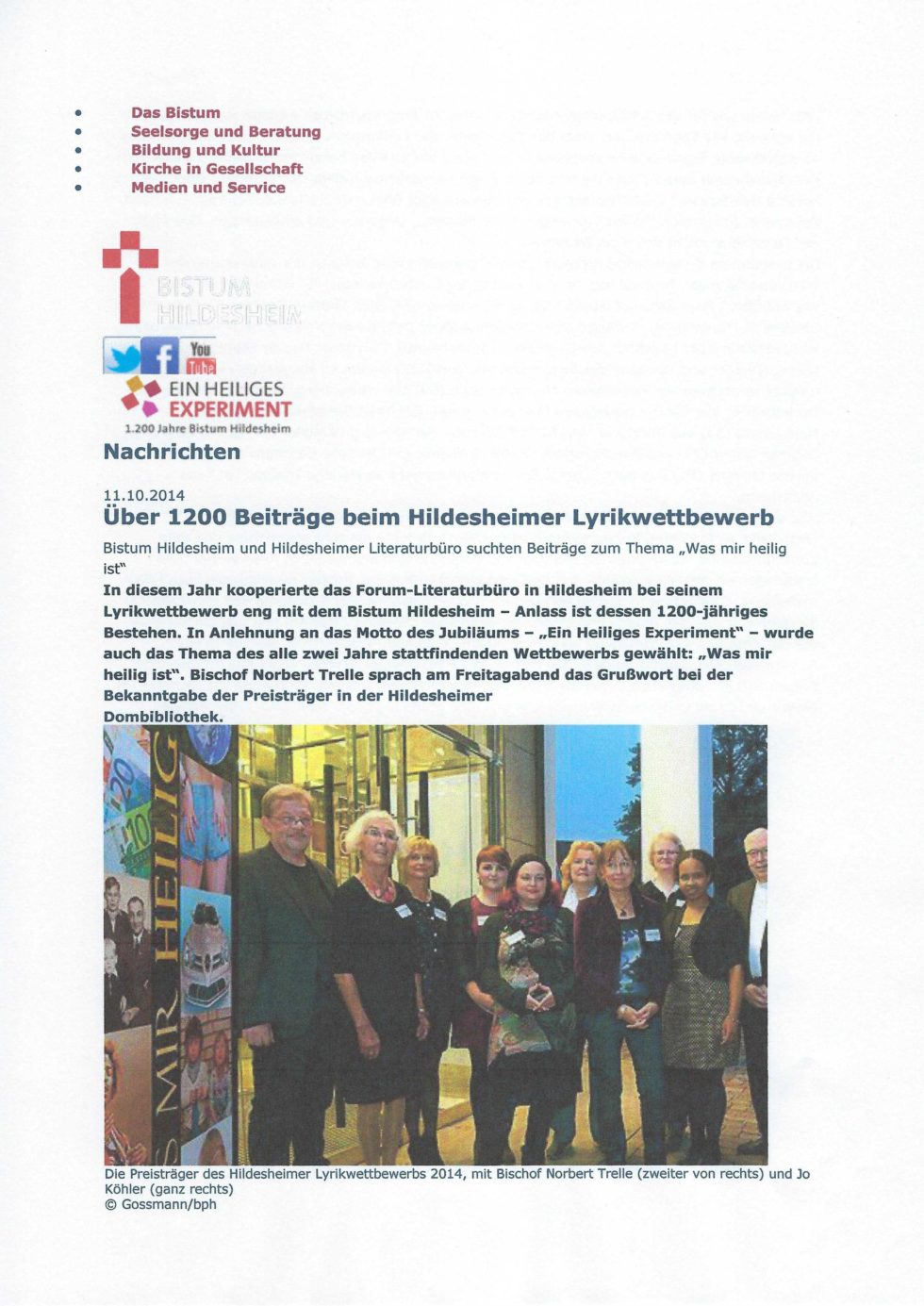2014 Bistums Jubiläum, LeseZeichen, Morosov Vertonung_Seite_38