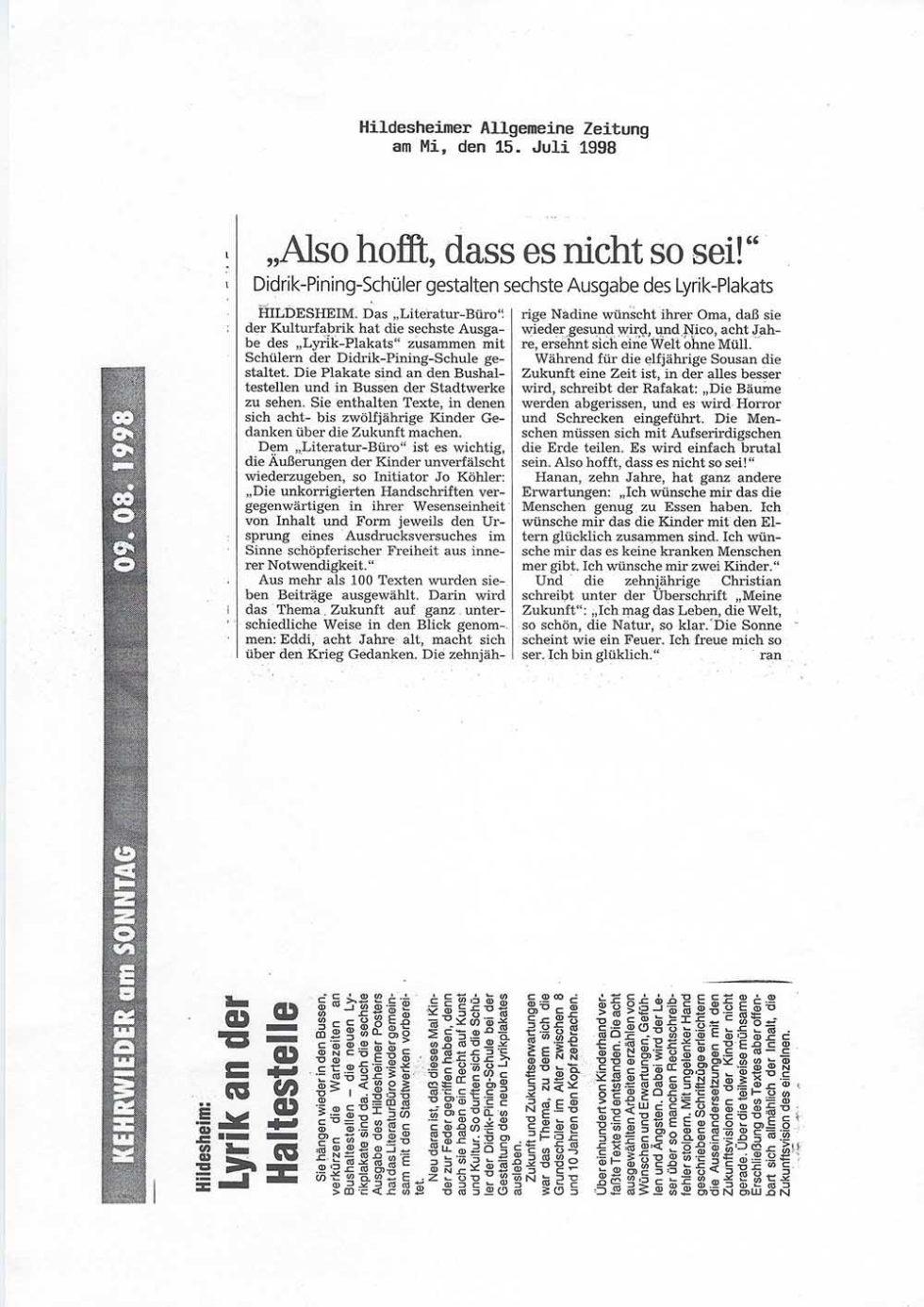 HAZ_Schulprojekte1998_15.07.98