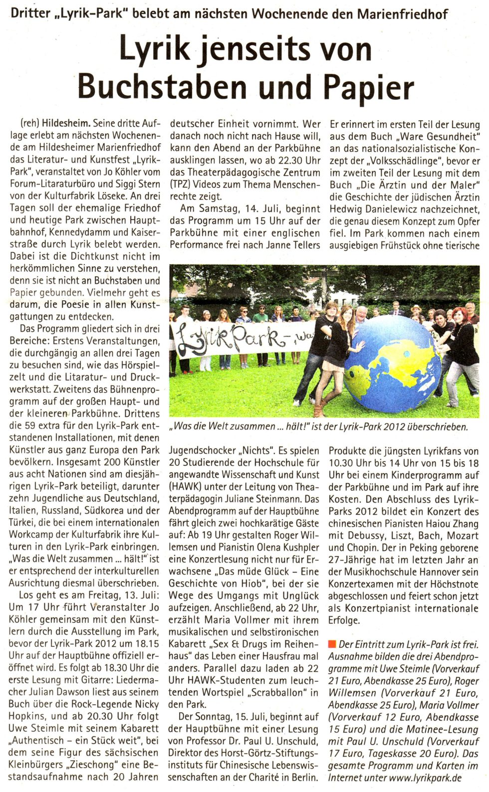 Lyrikpark2012_Presse02_ Kehrwieder 8.7.2012