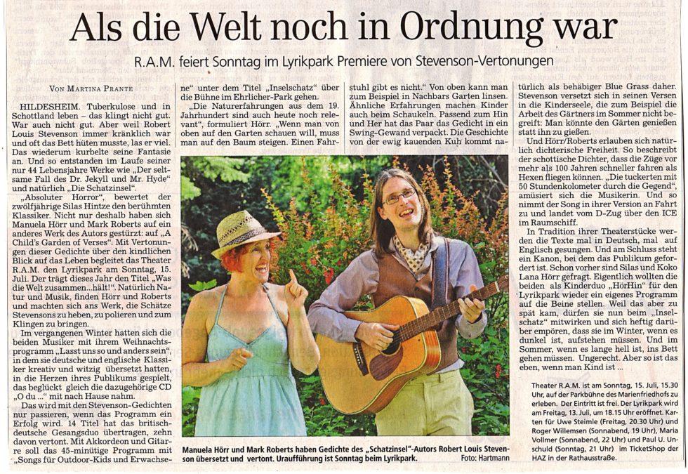 Lyrikpark2012_Presse03_ HAZ 11.7.2012