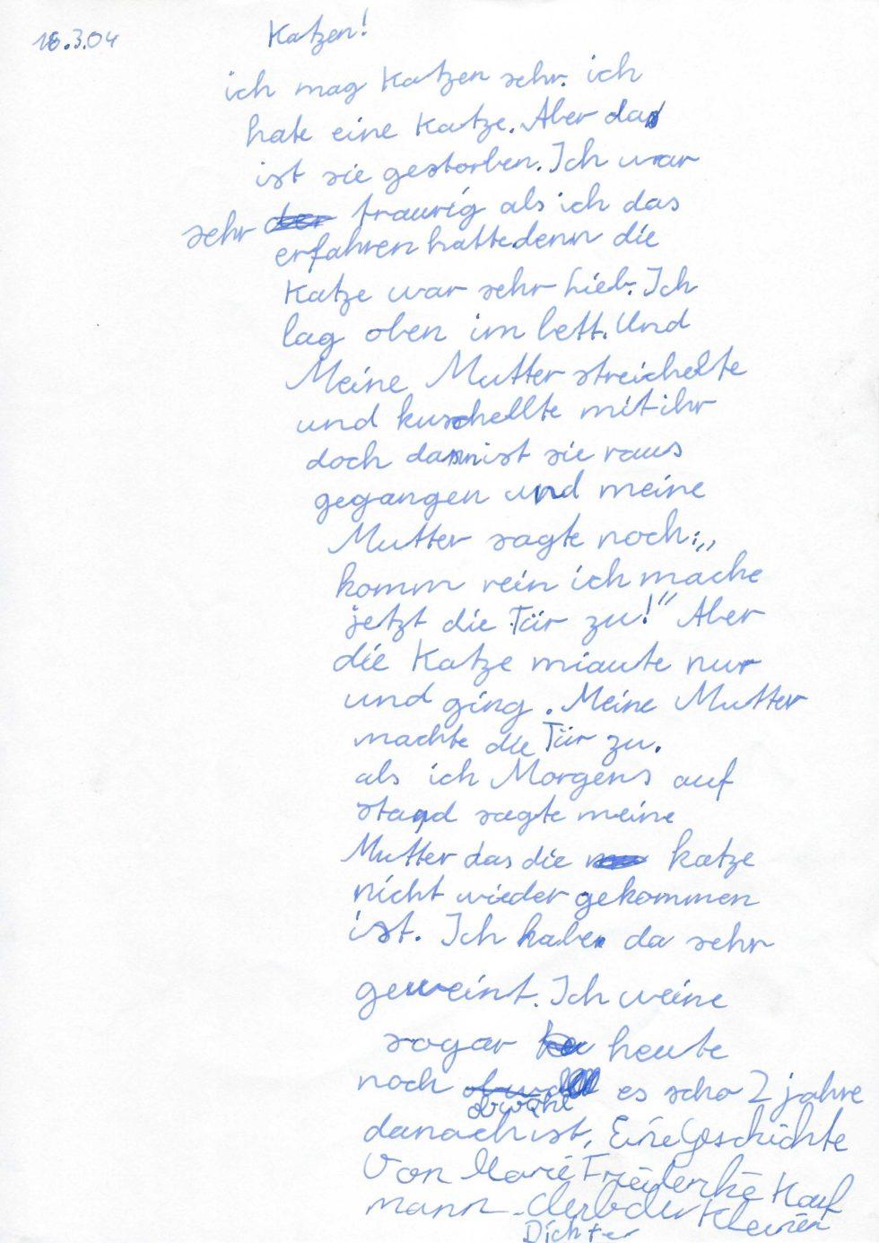 Schulprojekt2004_Die Werke der Kinder_Seite_13