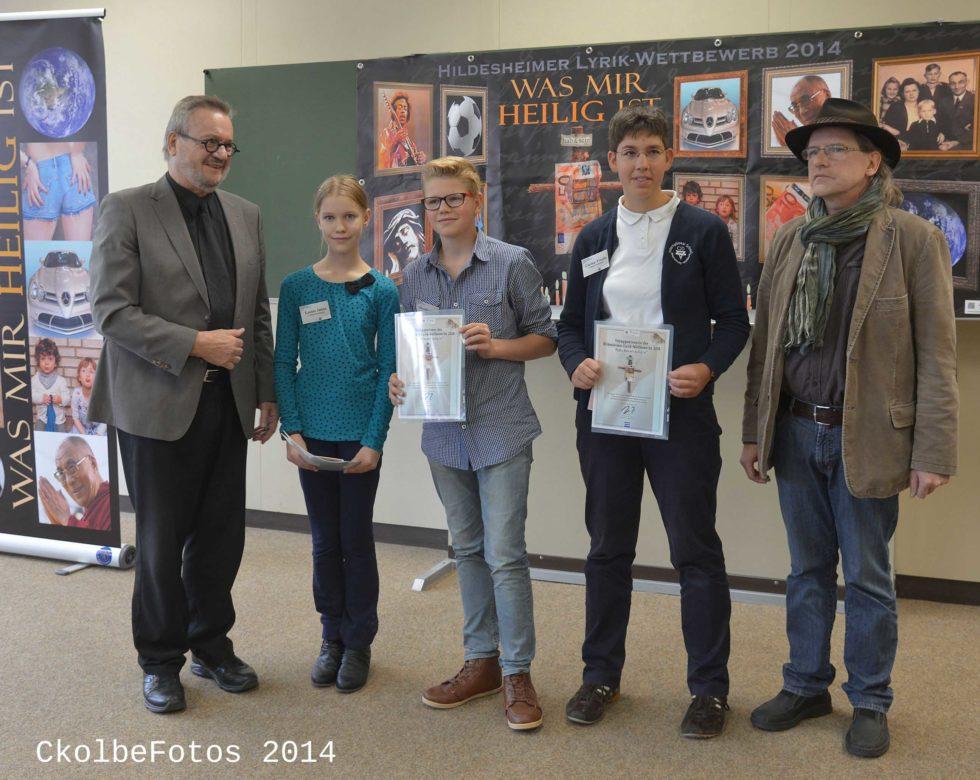 Schulprojekt2014_die Preisträger