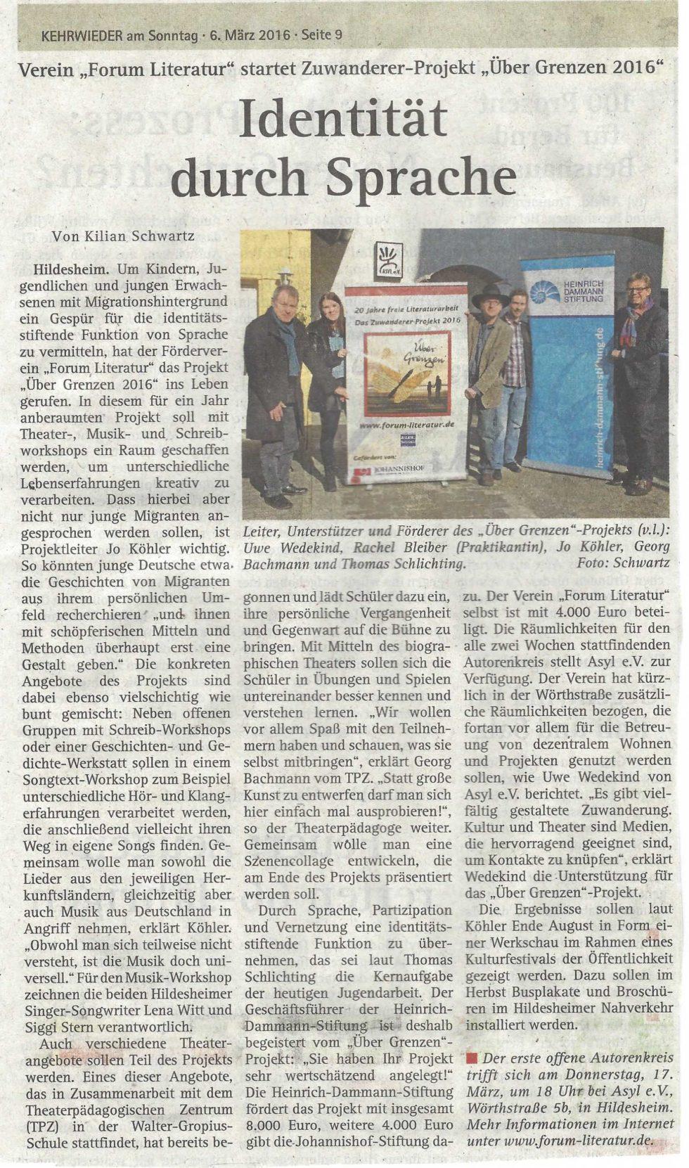 Schulprojekt2016_Kehrwieder 6.3.2016