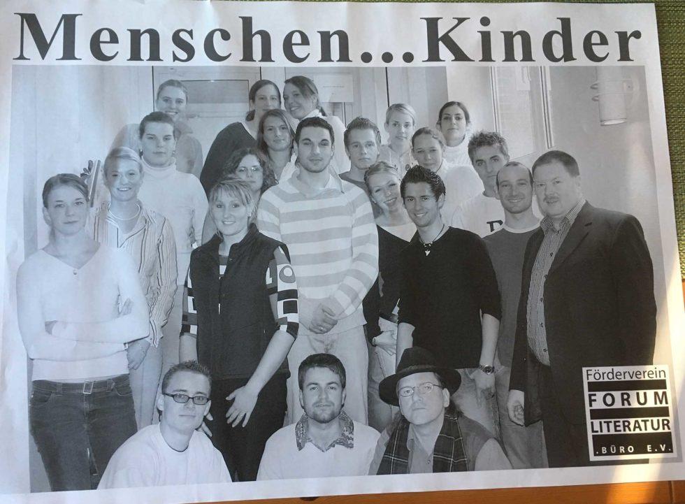 Schulprojekte2005_Plakat_Menschen Kinder