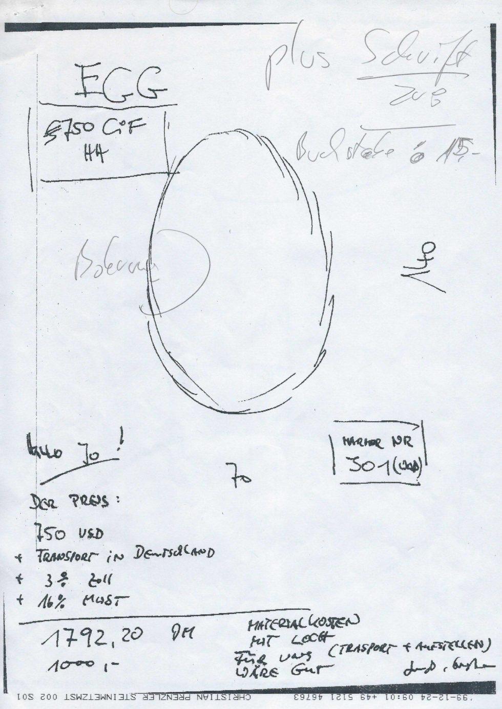 Skizze Prenzler II