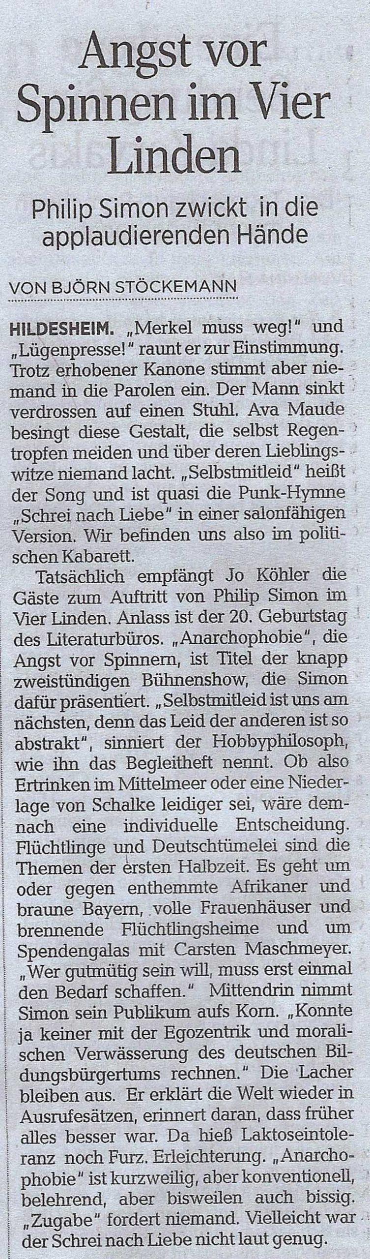 Weiteres_2016_Jubiläumsshow_HiAZ Pressebericht