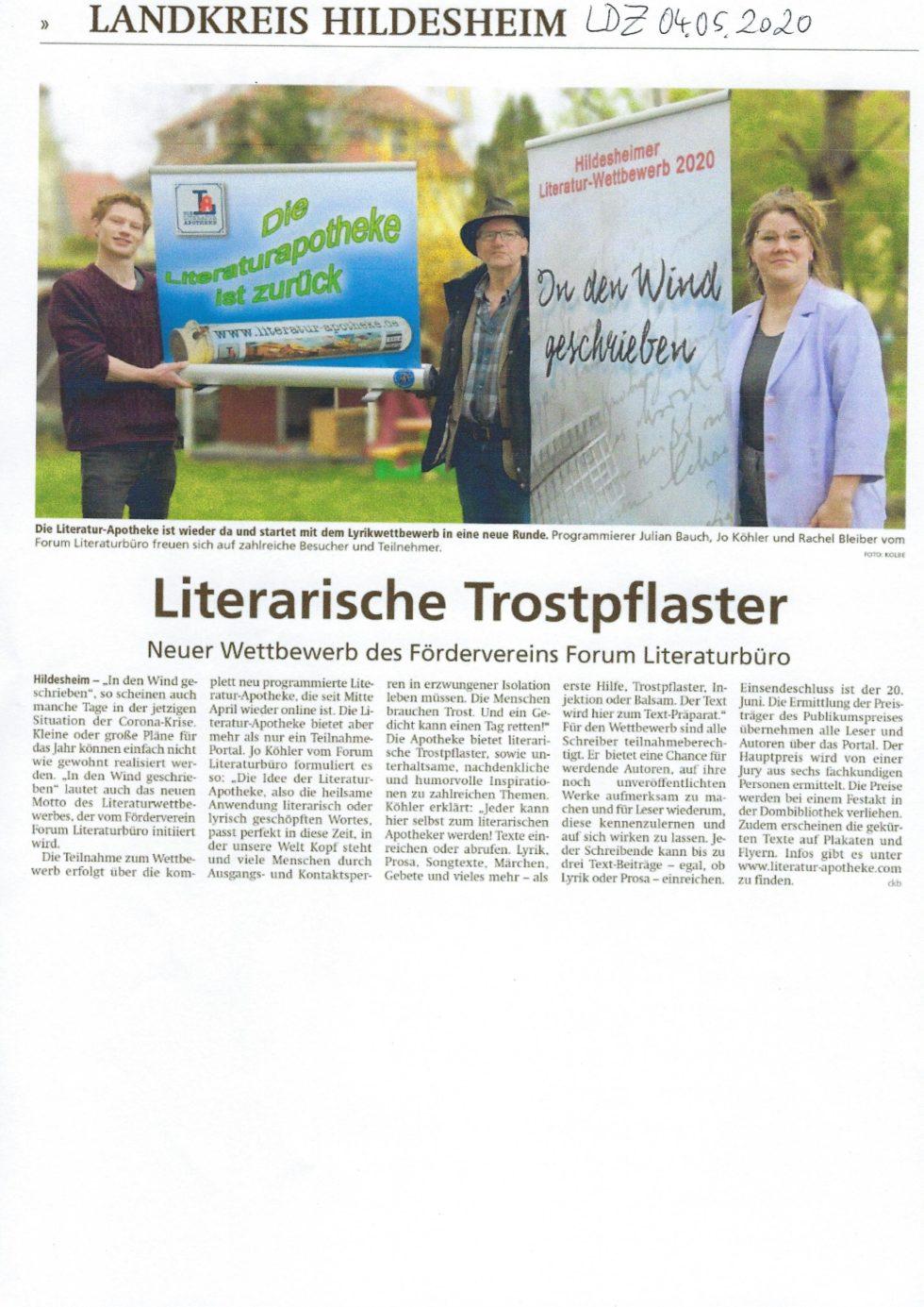 2019-2020 Lesezeichen, Wettbewerb, Lit.Apotheke_Seite_28
